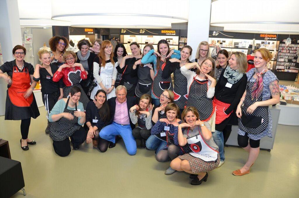 Gruppenfoto mit Herr Ueltschi